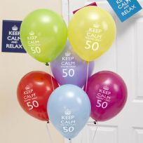 Keep Calm You're Only 50 Balloons (8)